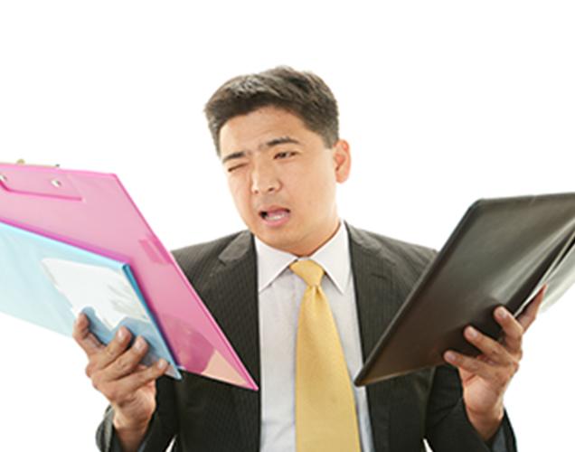 新規什器の調達、引越作業など、関わる業者が多く手配が大変の画像が表示されています。